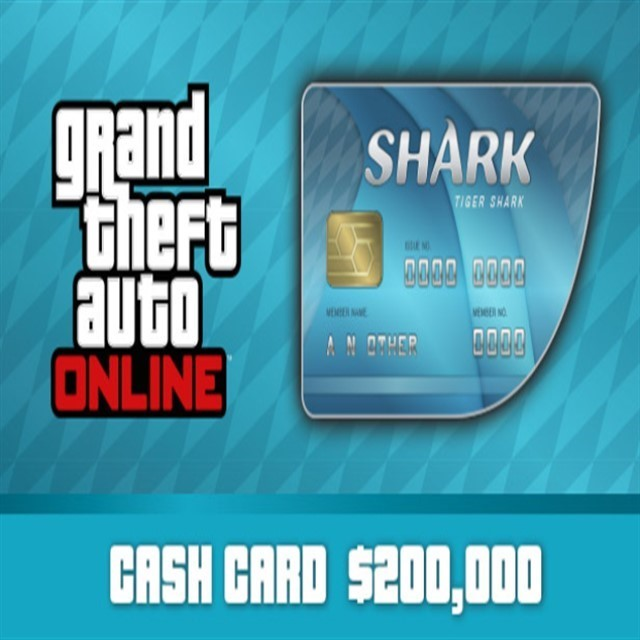 Grand Theft Auto Online: Tiger Shark Cash Card Rockstar