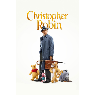 INSTANT Christopher Robin | HDX | VUDU or MA