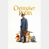 INSTANT DELIVERY Christopher Robin | HDX | VUDU or MA