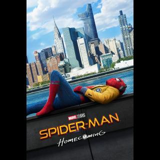 Spider-Man: Homecoming | HDX | VUDU / MA