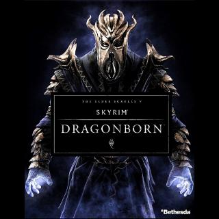 The Elder Scrolls V: Skyrim Dragonborn DLC Steam Key/Code Global