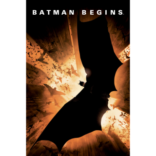 Batman Begins | HDX | UV VUDU