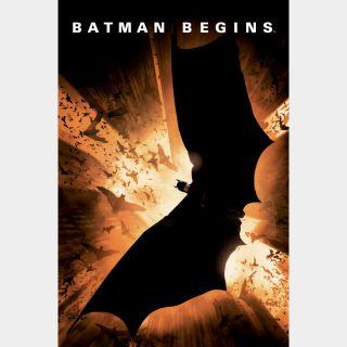 Batman Begins   HDX   UV VUDU