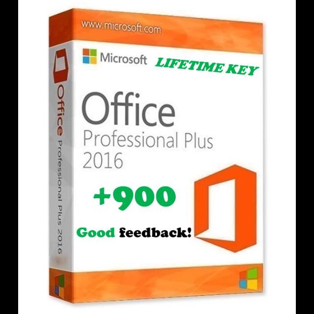 Microsoft Office 2016 Professional Plus PRODUCT KEY Latest Full