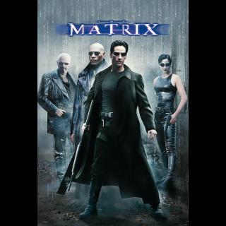 The Matrix | HDX | UV VUDU or HD iTunes via MA