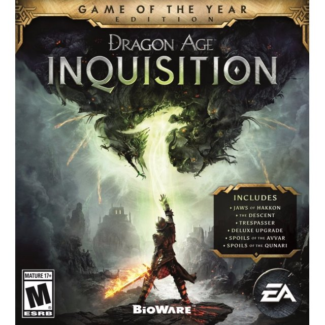 Dragon Age Inquisition Game of the Year (GOTY) Edition Origin Key/Code Global
