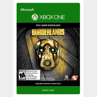 Borderlands: The Handsome Collection Xbox One Key/Code USA