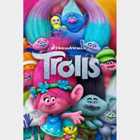 INSTANT DELIVERY Trolls | HDX | VUDU or HD iTunes via MA