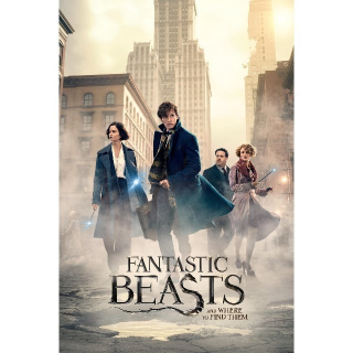 INSTANT 4K/UHD Fantastic Beasts and Where to Find Them | 4K/UHD | VUDU