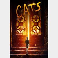 Cats Digital Code | HDX | VUDU or HD iTunes via MA