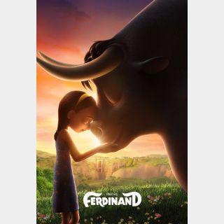 Ferdinand | HDX | VUDU or HD iTunes via MA
