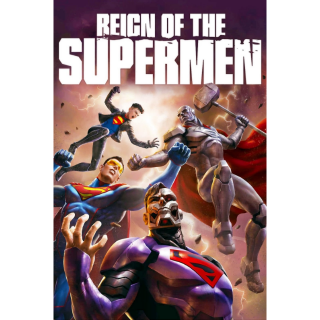 Reign of the Supermen | HDX | VUDU