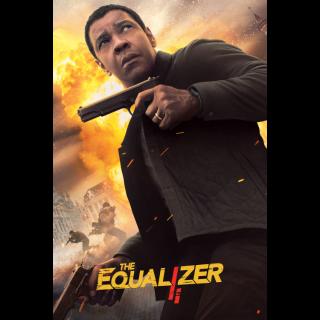 The Equalizer 2   HDX   UV VUDU or HD iTunes via MA