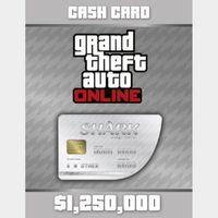 Grand Theft Auto Online (GTA V 5): Great White Shark Cash Card PC Key/Code Global