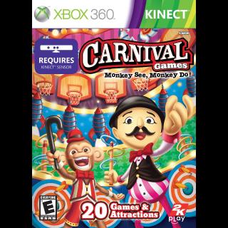 Carnival Games Monkey See Monkey Do Xbox 360 Key/Code Global