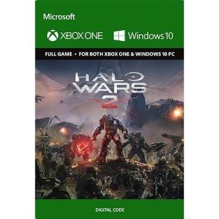 Halo Wars 2 Xbox One / Windows 10 Key/Code Global