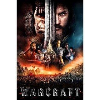 Warcraft | HDX | VUDU or HD iTunes via MA