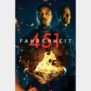 Fahrenheit 451 | HDX | UV VUDU