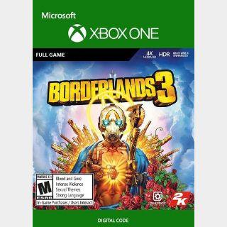 Borderlands 3 Xbox One Key/Code USA