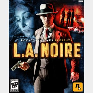 L.A. Noire ROCKSTAR GAMES Key/Code Global