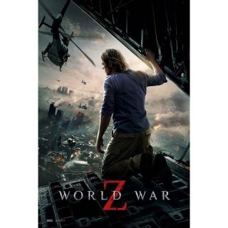 World War Z | HDX | UV VUDU