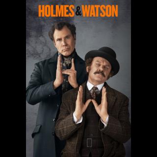 Holmes & Watson | HDX | VUDU or HD iTunes Via MA