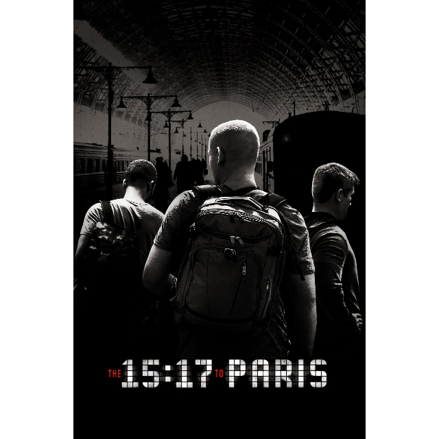 The 15:17 to Paris | HDX | UV or HD iTunes via MA
