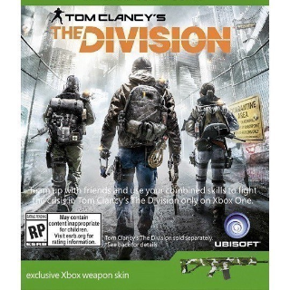 Tom Clancys The Division Weapon Skins DLC XBOX ONE Key/Code GLOBAL