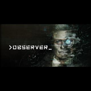 >observer_ Steam Key