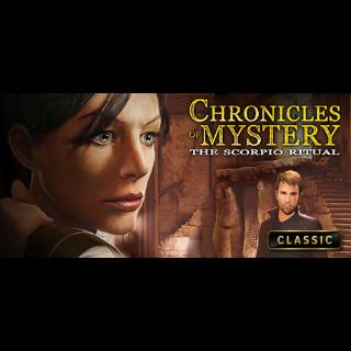 Chronicles of Mystery: The Scorpio Ritual Steam Key