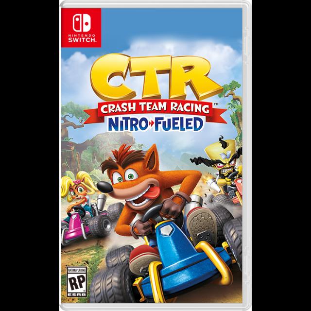 Crash Team Racing Nintendo Switch (US Region) - Nintendo