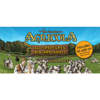 RARE GAME SELLING CHEAP | Agricola: All Creatures Big and Small | STEAM Key [INSTANT DELIVERY]