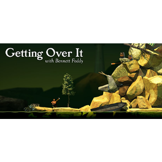 Getting Over It with Bennett Foddy   STEAM Key [INSTANT DELIVERY]