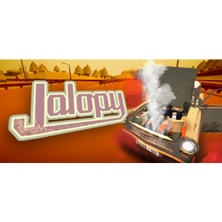 Jalopy - The Road Trip Driving Indie Car Game (公路旅行驾驶游戏) | STEAM Key [INSTANT DELIVERY]