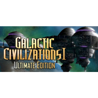 Galactic Civilizations® I: Ultimate Edition | STEAM Key [INSTANT DELIVERY]