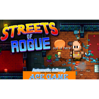 Streets of Rogue|Steam/Auto delivery