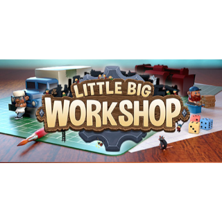 Little Big Workshop - INSTANT DELIVERY / Steam Key