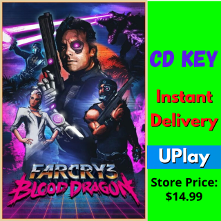 Far Cry 3: Blood Dragon Uplay Global