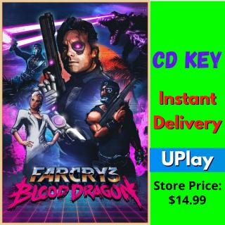 Far Cry 3 Blood Dragon CD key UPlay