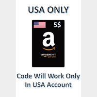 $5.00 Amazon.com Gift Card [Instant Delivery]