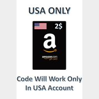 $2.00 Amazon.com Gift Card [Instant Delivery]