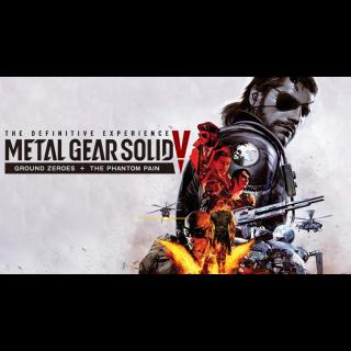 Metal Gear Solid V: Phantom Pain + Ground Zero + Definitive DLC *Instant Steam Key* [Buy Two Get One Free]