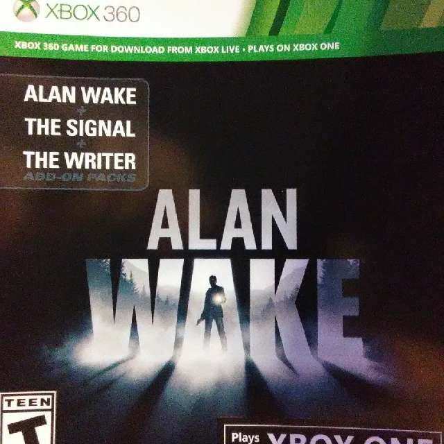 ALAN WAKE +THE SIGNAL+THE WRITER - Xbox Gift Card Gift Cards