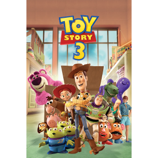 Toy Story 1-3 4k UHD - All 3 in 1 Bundle (separate codes for each)