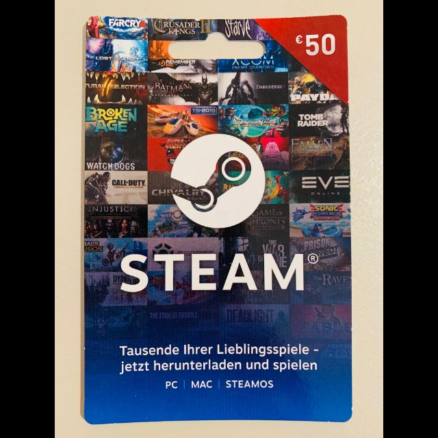 $55.00 Steam (€50)