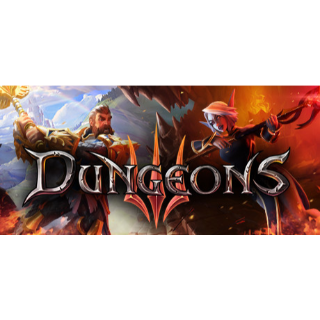 Dungeons 3 Steam Key Global Instant Delivery!!!