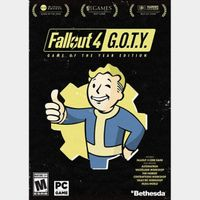 Fallout 4: Game of the Year Edition Steam Key GLOBAL Instant Delivery!!!