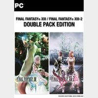 FINAL FANTASY XIII & XIII-2 Double Pack Steam Key Global Instant Delivery!!!