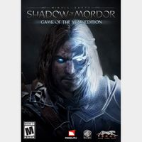 MIDDLE-EARTH: SHADOW OF MORDOR GAME OF THE YEAR EDITION Steam Key Global Instant Delivery!!!