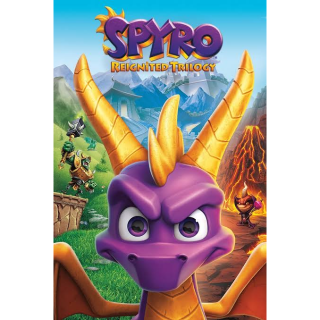 Spyro Reignited Trilogy Global Key Instant Delivery!!!